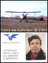 Tiger Moth e Attestato
